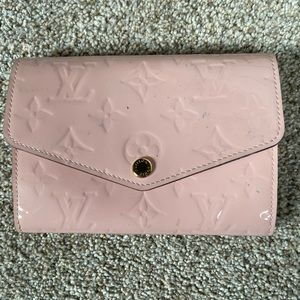 Louis Vuitton Vernis Sarah Compact Wallet